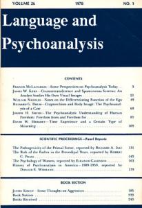 Language-and-Psychoanalysis