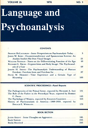 Language-and-Psychoanalysis